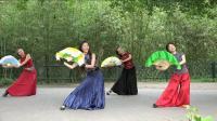 紫竹院广场舞——紫竹调, 舞步轻盈, 音乐舒缓, 尽显江南的柔情和婉约