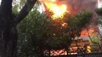 哈尔滨一温泉酒店发生火灾 已致19人身亡