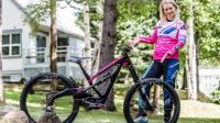 POLYGON - 冠军! TRACEY HANNAH在2018年CRANKWORX WHISTLER速降DH山地车赛!