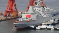 055万吨大驱突然放出海试信号 高悬五星红旗 前3艘舰名全部曝光