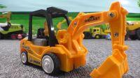 最新挖掘机视频表演88大卡车运输挖土机 挖机工作 工程车