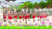 建群村广场舞单人水兵舞《我的九寨》编舞陈雪集体版2018年最新广场舞带歌词_01