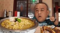东北菜必吃哈尔滨杀猪菜! 大血肠比豆腐嫩, 猪脸肉有半头猪的量!