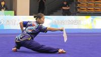 2018年全国武术套路锦标赛 女子刀术 001 胡钰莹(宁波)第六名