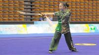 2018年全国武术套路锦标赛 女子刀术 002 王丹妮(重庆)
