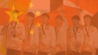 激动! 雅加达亚运会英雄联盟LOL场馆奏起中国国歌