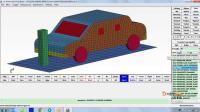 LS-DYNA基础课10-综合实例B-简易的整车碰撞分析(ftc大明)