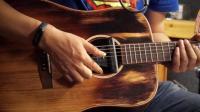 DOUBLE吉他精灵加振拾音器左轮评测