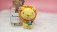 【汤小仙手作】第29集 大头动物系列—狮子玩偶教程