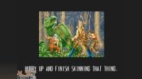 猴子_爱儿双人实况解说街机改版《恐龙快打极速版》(第四期)这次打了两关