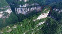 贵州大山发现一座薄如刀片的山峰, 200多年前竟有人在顶上建寺庙