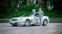 白话汽车: 十几万即可拥有, 值得收藏的敞篷跑车——奔驰SL500
