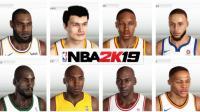 【布鲁】NBA2K19第一期: 球员面补吐槽大会! 乔丹科比詹姆斯麦迪姚明!