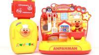 面包超人逛超市做寿司游戏 ANPANMAN全套厨房过家家玩具分享