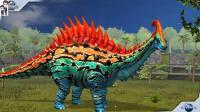 侏罗纪世界游戏第812期: 副栉蜥龙★恐龙公园★哲爷和成哥
