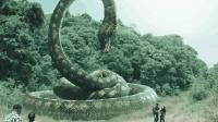 惊悚恐怖片《大蛇》探险队员看见巨蟒出现在面前, 都尿裤子了
