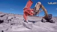 超大型的现代重型机械设备技术, 挖掘机操作技能太给力了!