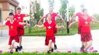 建群村广场舞双人水兵舞《锡林郭勒的星星》编舞春英2018年最新广场舞带歌词