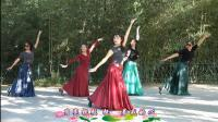 紫竹院广场舞——望月, 深情动听的舞曲, 细腻委婉的舞姿