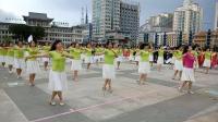 欢乐的广场舞-美丽的姑娘-延吉街道代表队