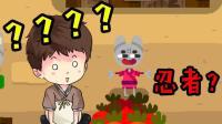 【逍遥小枫】保卫萝卜维护世界和平? 忍者兔子历险记!