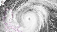 """直径55km """"山竹""""台风眼和香港一样大"""