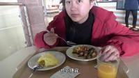 在俄罗斯的商场内吃一顿简餐要多少钱? 感觉这物价很低