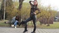 京京广场舞简单32步摇摆女孩