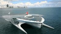德国发明世界顶级游船, 不用油不用电, 晒晒太阳就能环游世界
