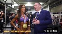 2018奥林匹亚|比基尼小姐冠军Angelica Teixeira的赛后采访