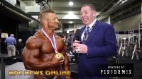 2018奥林匹亚|212磅级冠军Flex Lewis的赛后采访