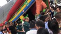 台风山竹波及湖南 游乐设施被大风吹翻致3伤