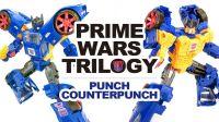 KL变形金刚玩具分享351 Prime Wars Trilogy 双面人