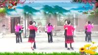 菱湖美景姐妹广场舞双人舞《从此心里有个你》编舞蝶依2018年最新广场舞带歌词