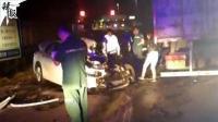 河北雄县货车与轿车相撞 致8人死亡