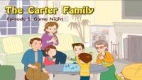 Little Fox小狐狸英语动画| 卡特家庭1| 游戏之夜| 日常英文口语