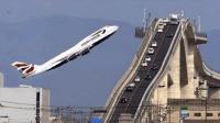 惊人的飞机降落过程, 如果不是摄像头的记录, 你永远也看不到