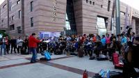 西宁新宁广场管弦乐伴奏大合唱--男博万视觉