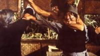 洪金宝与元彪的这场功夫大战实在天精彩了, 早期的两人太能打了!
