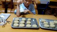 教你做月饼:八月十五中秋节: 我家的特色月饼: (五仁叉烧水晶桂园月饼): 低糖、低油、美观好吃又好看