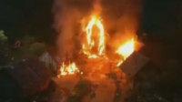 片场失火逾20人送医治疗 60岁女星面部烧伤