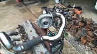 福特拖拉机的涡轮增压发动机正在进行测试, 这声音听起来好舒服
