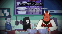 Little Fox小狐狸英语动画  怪物学校之扫帚之谜3  不友好的怪物  趣味英文学习