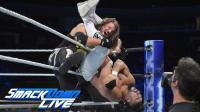【SD 09/18】AJ缠斗阿尔马斯 发出漂亮的斯泰尔斯冲击 萨摩亚乔赛后偷袭