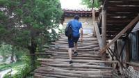 朝鲜世界20集: 到达开城, 这里曾是高丽王朝的古都, 探秘木式房屋的建筑工地