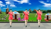 代玉广场舞《一路歌唱》动感32步自由舞, 旋律动感节奏明快