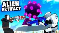小飞象解说✘战地模拟器 抢夺神秘外星神器! 疯狂外星人大战!