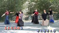 紫竹院广场舞——乌兰巴托的夜, 两位小美女领舞, 尽显风采!