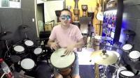 凯文先生《酒歌》非洲鼓箱鼓卡宏鼓丽江手鼓演奏