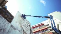 街头艺术家之作 唤醒人们对巴西瓜拉尼历史与文化的热爱